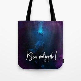 ¡Sea valiente! (Jonah and the Big Fish) Tote Bag