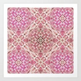 Abstract pattern. Art Print