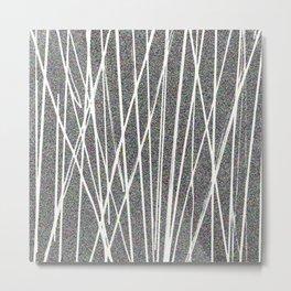 rayures Metal Print