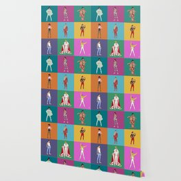 Bohemian Grid (square) Wallpaper