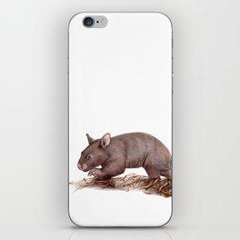 Wombat Walk iPhone Skin