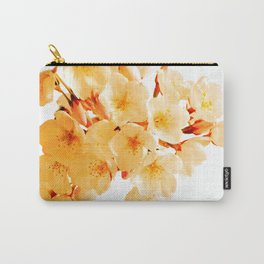 WARM BLOSSOMS Carry-All Pouch
