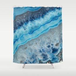 Blue Gem Shower Curtain