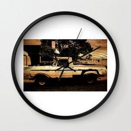 Jesse's Truck Wall Clock