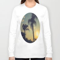 florida Long Sleeve T-shirts featuring Florida by Jillian Stanton