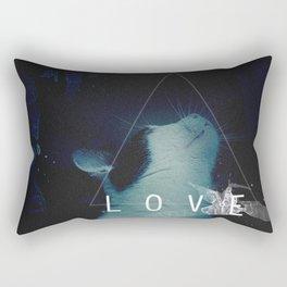TRINITY CAT LOVE Rectangular Pillow
