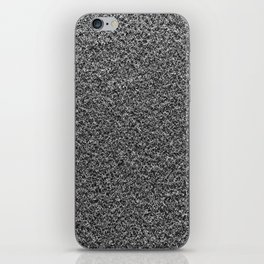 Gray Fleecy Material Texture iPhone Skin