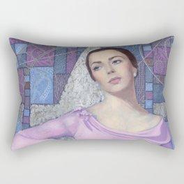 Elizabeth Taylor, Old Hollywood Rectangular Pillow