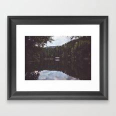 Cabin Framed Art Print
