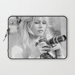 Brigitte Bardot with Camera Laptop Sleeve