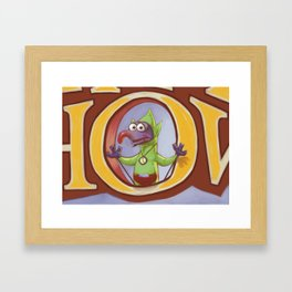 THE ZELDA SHOW : TINZO Framed Art Print