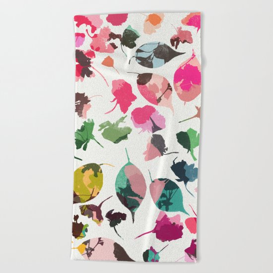 cherry blossom 3 Beach Towel