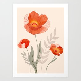 Summer Flowers II Art Print