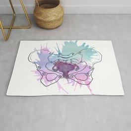 Uterus Splat Rug