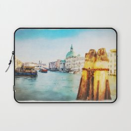 The Pier of Venice watercolor Laptop Sleeve