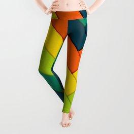 Layered Angles Leggings