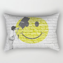 No Happiness Allowed! Rectangular Pillow