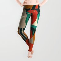 always Leggings featuring Flock of Birds by Picomodi