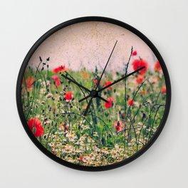 Summerday Wall Clock