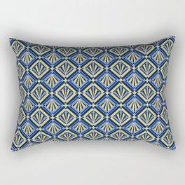Winter Deco Diamonds Rectangular Pillow