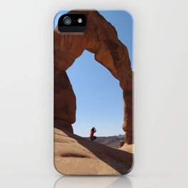 Framed - Delicate Arch iPhone Case
