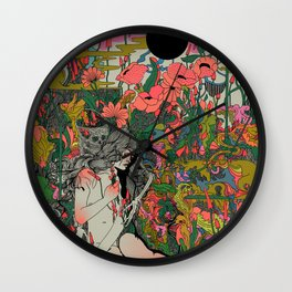 I Love You to Death Wall Clock