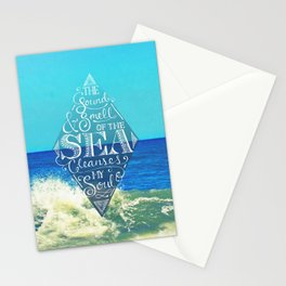 Sound and Smell of the Sea Stationery Cards