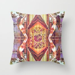 Cerebellum Throw Pillow