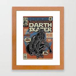 Darth Skater The Skate Lord Framed Art Print