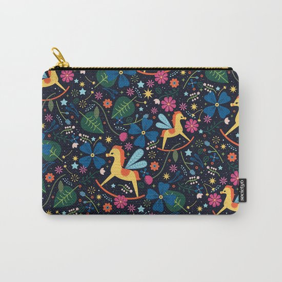 Rocking-Horse-Fly Carry-All Pouch