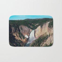 Yellowstone x Lower Falls Bath Mat