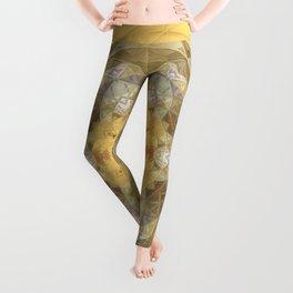 Golden Octavian Mandala Leggings