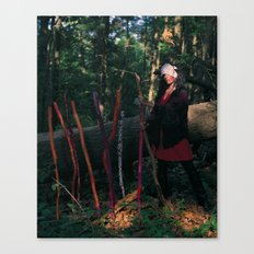 9 of Wands Canvas Print