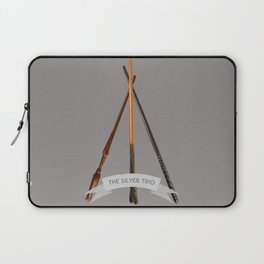 The Silver Trio Laptop Sleeve
