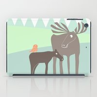 moose iPad Cases featuring Moose by Dream Of Forest