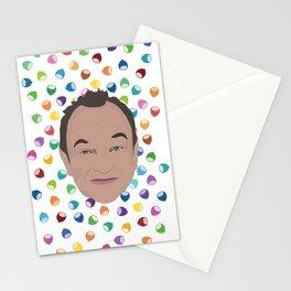 Marcel LeBoeuf et la pluie de noisettes arc-en-ciel Stationery Cards