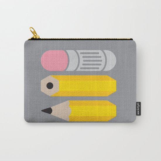 Deconstructed Pencil Carry-All Pouch