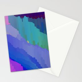 Abstact waterfall Stationery Cards