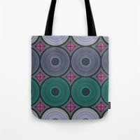 returns Tote Bags featuring Mod Returns by MY  HOME