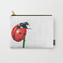 Ladybug | Colored pencil drawing Carry-All Pouch