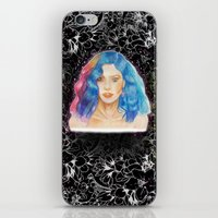 marina iPhone & iPod Skins featuring Marina by Share_Shop
