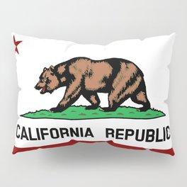 California Flag Pillow Sham