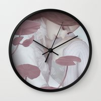 lily Wall Clocks featuring Lily by Jumei