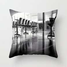 Crowded Throw Pillow