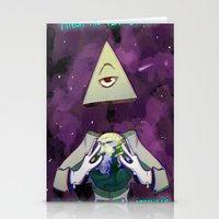 illuminati Stationery Cards featuring Illuminati  by Static-Thing