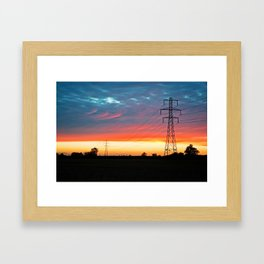 The Warmth Of Lincolnshire Framed Art Print