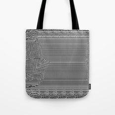 Black and White Landscape Tote Bag
