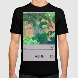 Jungle Garden Music album  T-shirt