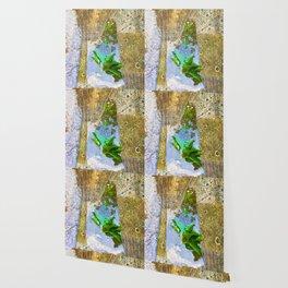 Leaves In Water Wallpaper