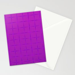 Glama Checks (Purple) Stationery Cards